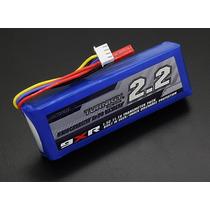 Bateria Lipo 2200 Mah Para Rádio Turnigy 9xr - Com Proteção!