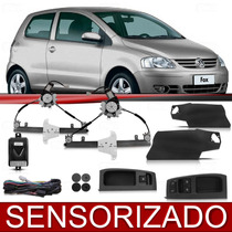 Kit Vidro Elétrico Fox 04 05 06 07 08 09 2 Pts Sensorizado
