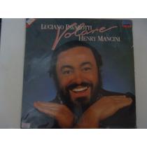 Disco De Vinil Lp Luciano Pavarotti Hery Mancini