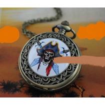Relogio Caveira Pirata