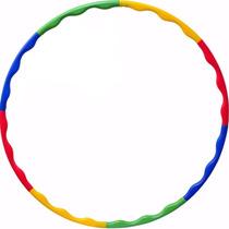 Bambolê Desmontável 90 Cm Exercícios Colorido Ls3326 Liveup