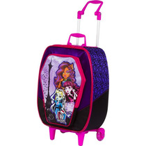 Mochila Com Rodas Monster High - De 324,00 Por 289,00