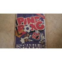 Album Figurinhas Copa 82 Ping Pong Original (quase Completo)