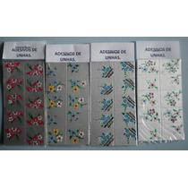 Adesivos Para Unhas Artesanais 10 Cartelas Com 100 Decalques
