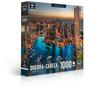 Quebra-cabeça 1000 Peças -paisagens Noturnas-ponte De Manhat