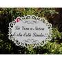 Placa Casamento Entrada Noiva Moldurada Personalizada