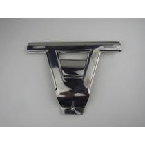 Suporte Placa Dianteira Aço Inox Fusca 1970 1200 1300