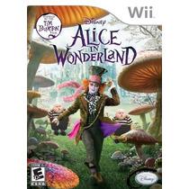 Alice In Wonderland - Wii Original Novo & Lacrado!
