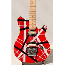 Guitarra T Johnson Evh Mod Music Man Axis Pint Vermelha/list