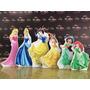 Kit Com 6 Princesas Disney Display Cenário De Chão