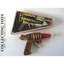 Brinquedo Antigo - Espacial Pistol - Anos 70 C/ Fricção Luz