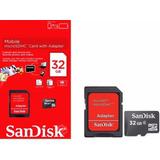 Cartao-Memoria-Micro-Sd-32gb-Sandisk-Original