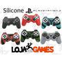 Capa Silicone Lavável Controle Playstation 3. Várias Cores!!