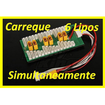 Carreque 6 Lipos Simultaneamente Plug Xt60