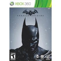 Novo Batman Arkham Origins Xbox Português Br Pronta Entrega