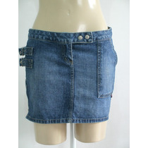 Linda Mini Saia Jeans # Planet Girls # Tam; 38 R$ 40,00