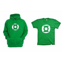 Combo Blusa Com Camiseta Lanterna Verde