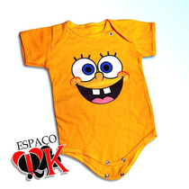 Body P/ Bebê Bob Esponja
