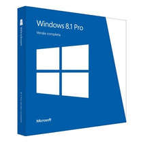 Windows 8.1 Pro Portugues Brasil Full Original 32/ 64 Bit