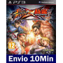 Street Fighter X Tekken Ps3 Psn Mídia Digital