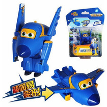 Jerome Super Wings Mini Transformavel Entrega Imediata Aviao
