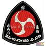 Bordado Termocolante - Lutas - Mizu-no-kokoro Ju-jitsu 8,5