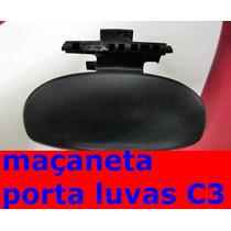 Citroen C3 Puxador Alavanca Porta Luvas Original C4 C5 C6