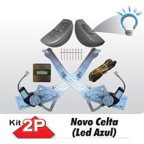 Kit Vidro Eletrico Celta Novo 2 Portas 2012 Em Diante