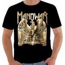Camiseta Ou Baby Look Ou Regata Manowar Battle Hymns Mmxi
