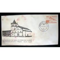 Envelope Selo Antiga Restauração Igreja Pátio Do Colégio