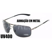 Óculos De Sol Esportivo Quadrado Masculino Uv400