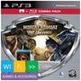 Mortal Kombat Vs Dc Universe + Bd Filme Mortal Kombat Ps3