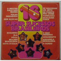 Lp 16 Super Sucessos Brasileiros - 1975 - Poly Star