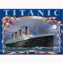 Quebra Cabeça Puzzle Importado 1500 Peças Navio Titanic Raro