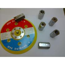 Base Velcro 6 P/ Politriz Elétrica C/adaptador Frete R$ 8,00