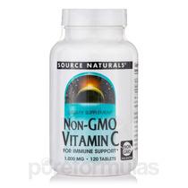 Non-gmo Vitamina C-1000 (corn-based) - 120 Comprimidos Por S