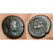 Pella, Macedonia. Moeda Antiga Grega Grécia Rara!!!