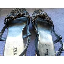 Sapato Sandália Anabela Usado Em Bom Estado Nº 38