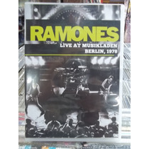 Ramones Live At Musikladen Berlin 1978 Dvd Original Impecáve