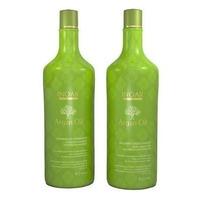 Inoar Kit Argan Oil System (shampoo+condic 1 Litro Cada)
