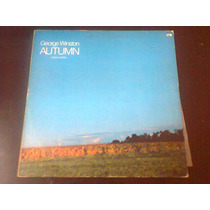 Lp George Winston - Autumn - Piano Solos