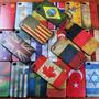 Capa Case Iphone 4 4s Bandeiras Brasil, Eua E Inglaterra