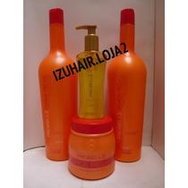 Kit Profissional Probelle Force Relax - 1 Litro + Oleo Argan