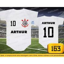 Body Ou Camisetas Times Corinthians Brasileiro Personalizado