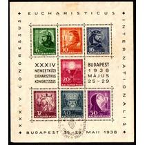 Col 10619 Hungria Bloco 02 Congresso Eucarístico N/u