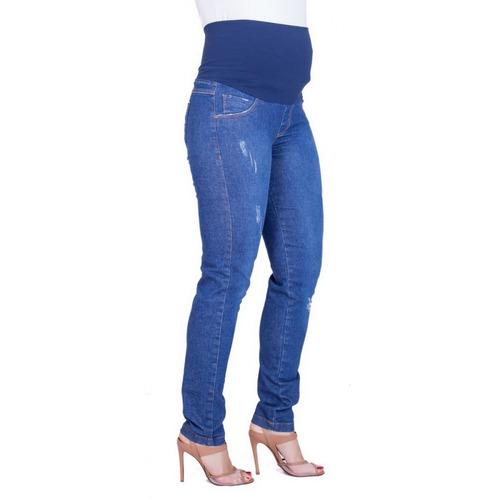 Calça Jeans Gestante Skinny Elisa