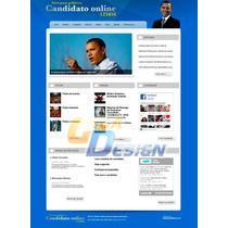 Site Para Politicos Vereadores Deputados 2014 Script Php