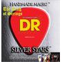 Encordoamento Baixo De 4 Cordas Dr Silver Stars .45