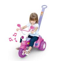 Triciclo Baby Music C/ Empurrador E Som - Cotiplás Oferta