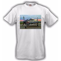 Camiseta Aeromodelismo Super Tucano Branca